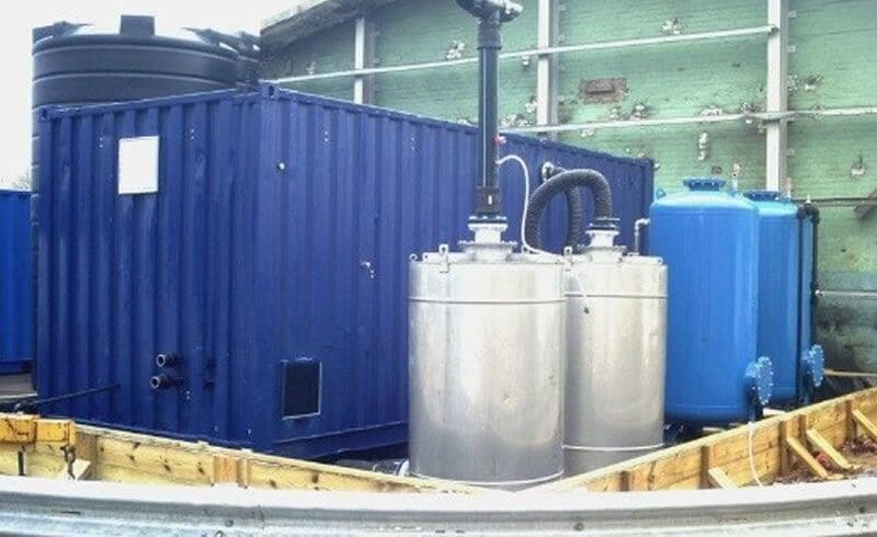 In-situ groundwater/soil treatment plant available for imminent delivery